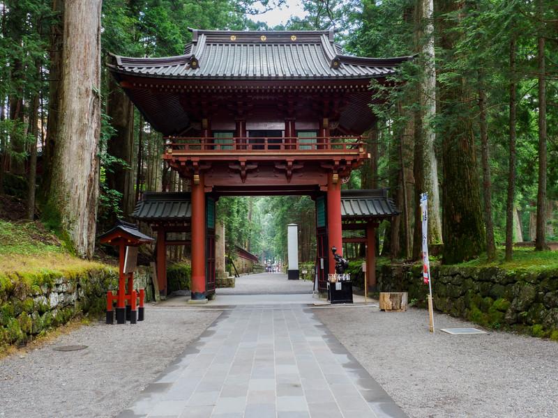 Gate to Futarasan Jinja