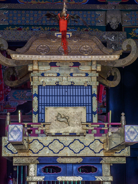 Sacred Shinyosha Palanquin House