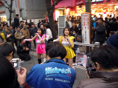 Random street performance in Shibuya.