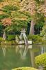 The Kotojitoro lantern in Kenrokuen Garden, Ishikawa