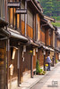 Woodern architecture of the Samurai Quarter, Kanazawa
