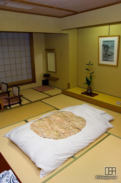 My room at the Ibusuki Hakusuikan Resort