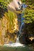 Waterfull in Shosenkyo Gorge