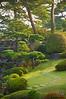 The gardens of the Win Lake Hill Hotel, by Lake Kawaguchi