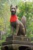 Statues at the Fushimi Inari Shrine