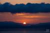 Sunrise at Kagoshima Bay