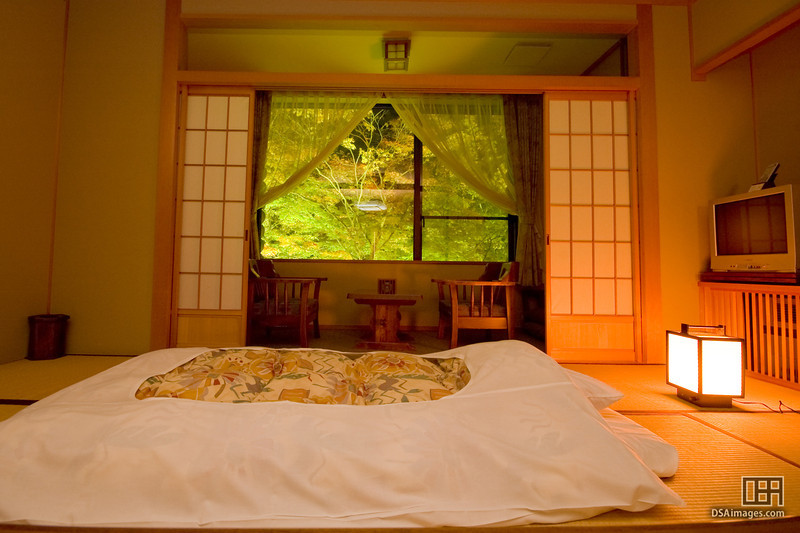 My room at the Oirase Keiryu Hotel