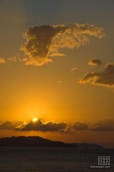 Sunrise over the Naruto Narrows