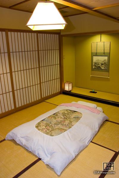 My room at Hotel Koyanagi, Matsumoto
