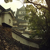 Himeji-jo is beautiful in any weather.