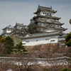 Today's castle was built by Lord Toyotomi Hideyoshi in 1580.