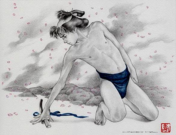 """Cherry blossoms"" by Hideki Koh (1962)."