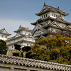 Himeji-jo's 16th Century design was influenced by European castles.