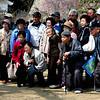 The ubiquitous Japanese tour group.