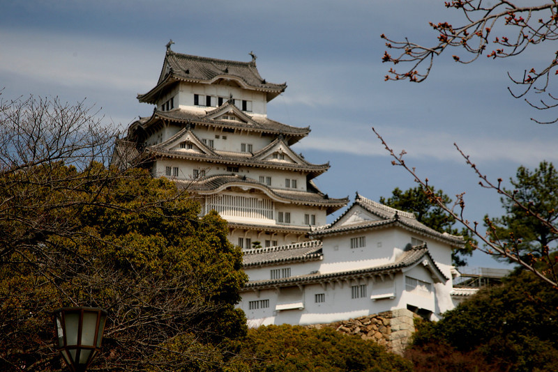 48 successive lords occupied Himeji Castle over the centuries.