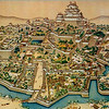 400-year old fresco shows the greatest extent of the castle.