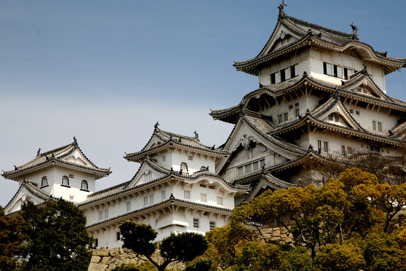 Americans bombed Himeji City in 1945, burning it to the ground, but castle was not harmed.