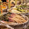 Nishiki Market, the foodie street in Kyoto.