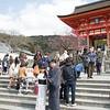 Entry gate of Kiyomizu Temple.