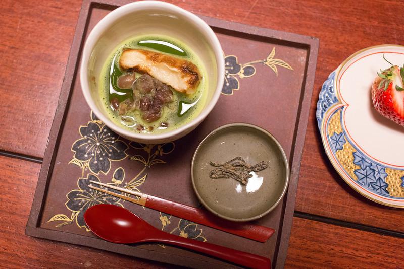 Seccond Kaiseki dinner at Hiiragiya Bekkan Ryokan