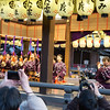 Performance at Yasaka Shrine