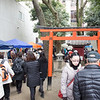 Monthly crafts market at Chion-ji temple in Kyoto.