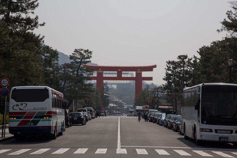 Toori Gate outside Heian Shrine