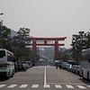 Toori Gate outside Heian Shrine