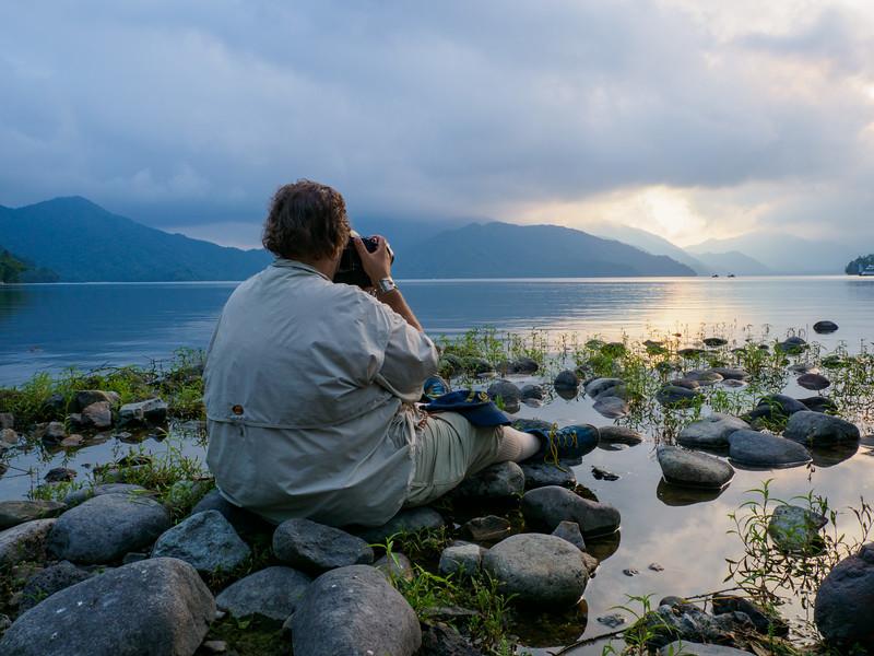 Blain capturing beautiful lake scene
