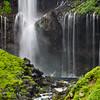 Ribbons of water at Kegon Waterfalls