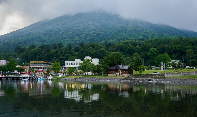 Resort village on Lake Chuzenji