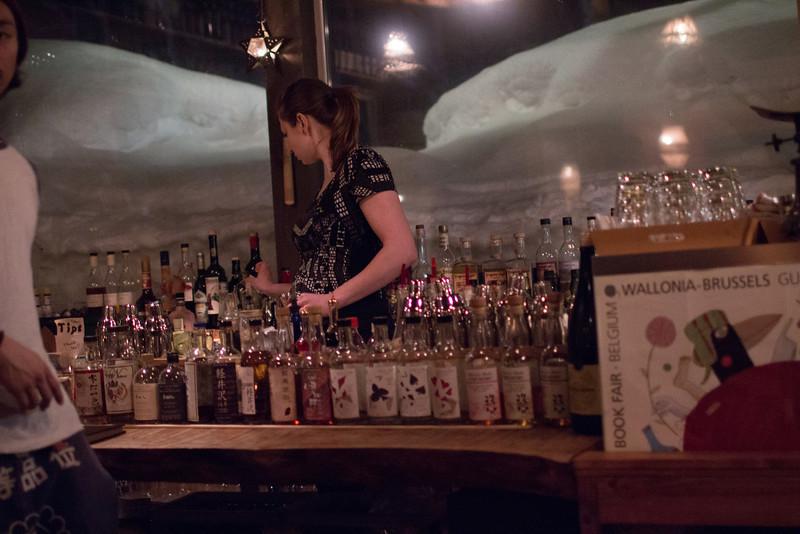 Bar Gyu, aka the fridge door bar