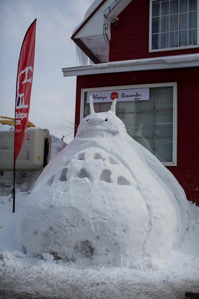 Snow Totoro