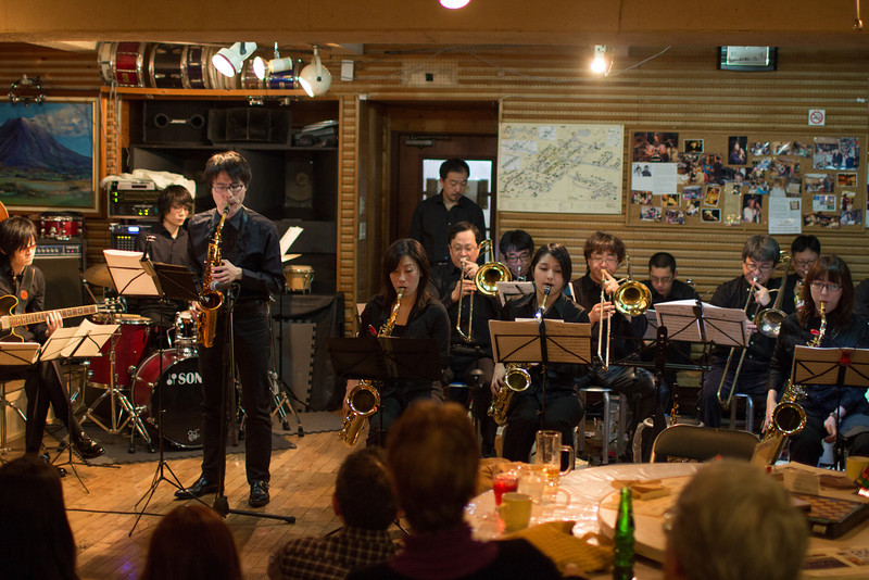 Sapporo Jazz Orchestra at Half Note