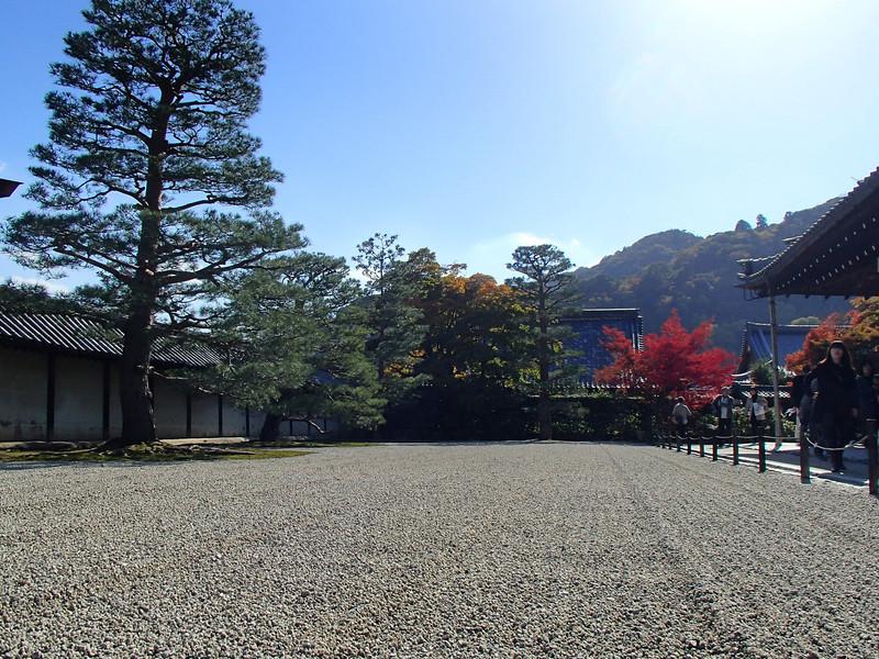 Leaving Tenryu-ji.