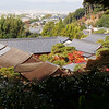 Silver Pavilion courtyard, with a view of Kyoto to the west. I bet the garden in there is awesome.