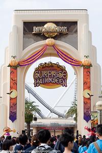 Universal Studios, Osaka. Surpise Halloween