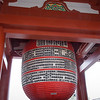 Giant red lantern at the Asakusa Temple.