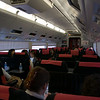 A quick snapshot onboard the Narita Express going back to the airport.