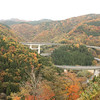 Between Izumo sakane and Miinohara, the loop of road makes a beautiful visual composition.