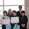 The school children had a school project to each explain something about the museum, Lake Shinji, or Matsue to tourists.  <br /> <br /> Their teacher was very proud of them.