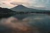 Fuji-san at dawn from Kawaguchiko