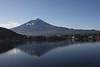 """""""Fuji-san"""" in early morning from Kawaguchiko"""