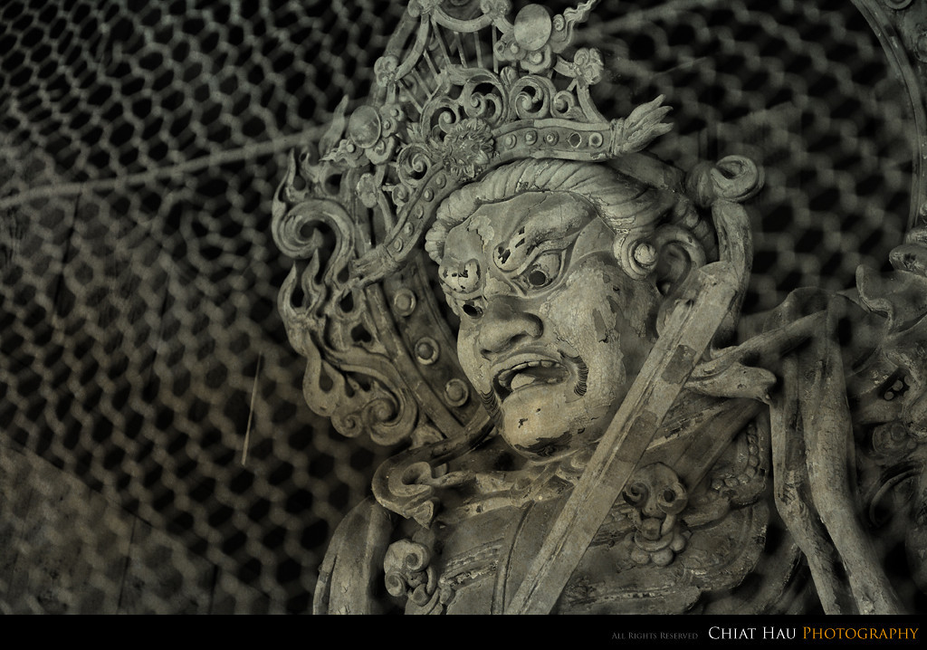 One of the guardian in the temple