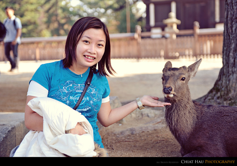 They have deers as well - LB with the deer. :D
