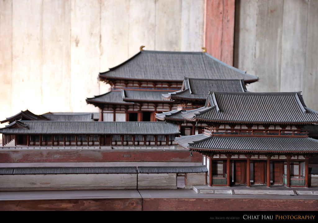 The miniature view of the temple