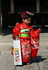 Dressed in full traditional finery for the 3-5-7 holiday in Miyazaki, Japan