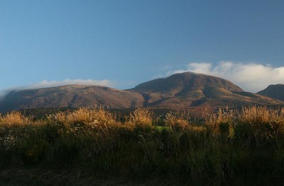 Central Kyushu in the fall