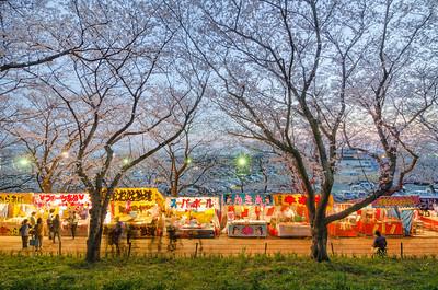 Satte Sakura Matsuri Stalls