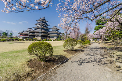 A Walk Around Matsumoto Castle